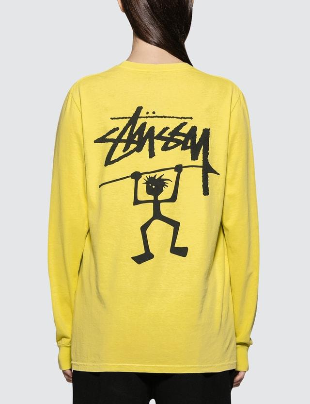 Stussy Warrior Man Pig. Dyed Long Sleeve T-shirt