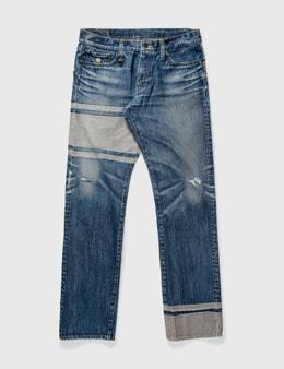 Mastermind Japan Mastermind Japan Trimming Washed Jeans