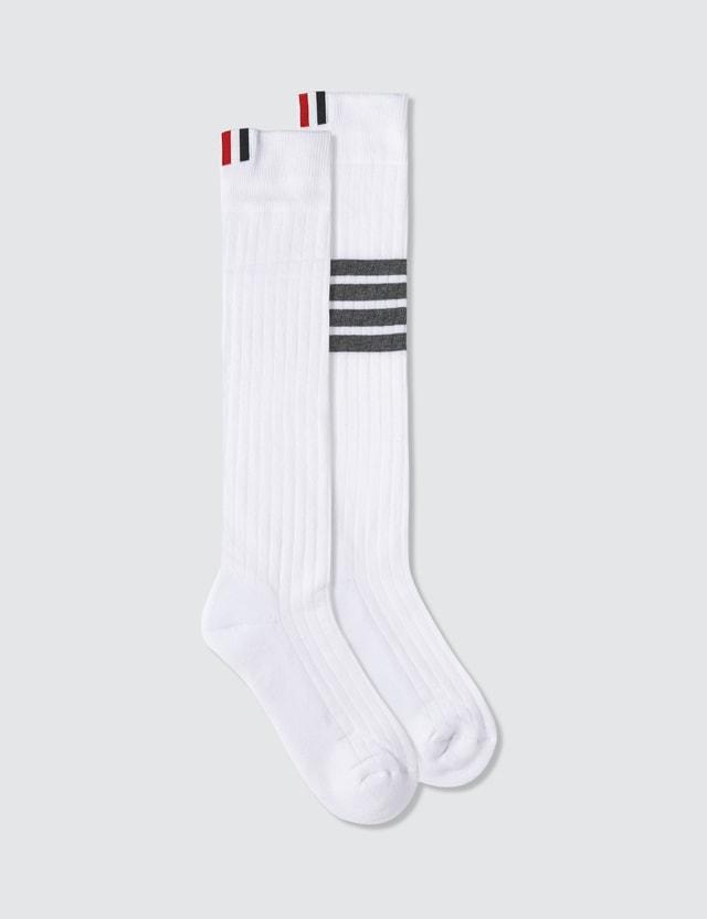 Thom Browne 4 Bar Stripe Socks