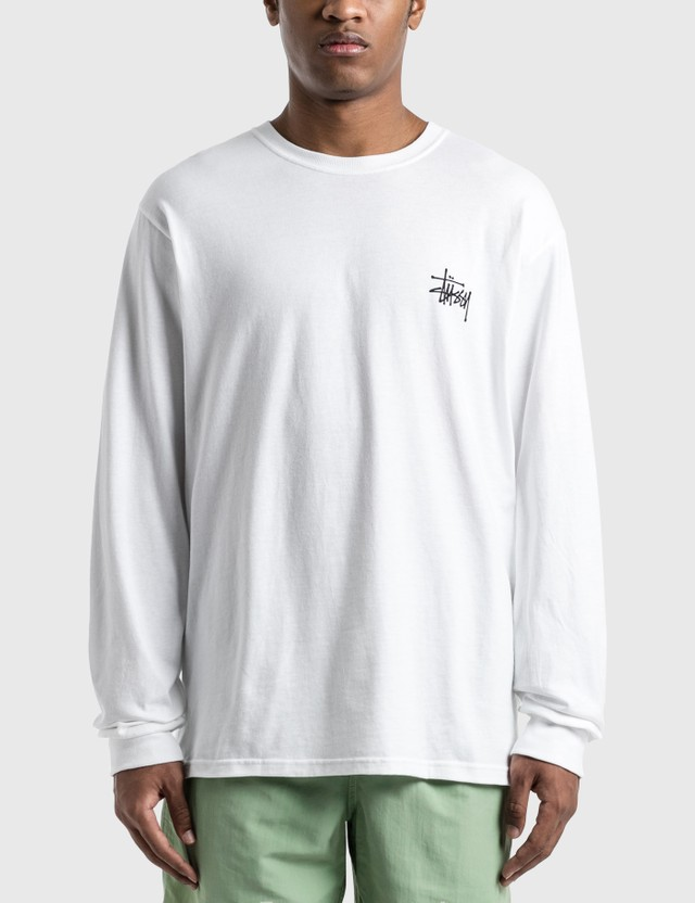 Stussy Basic Stussy Long Sleeve T-Shirt