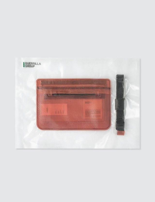 Guerrilla-group Translucent Leather Small Bag