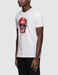 Alexander McQueen Painted Palette Skull Print S/S T-Shirt