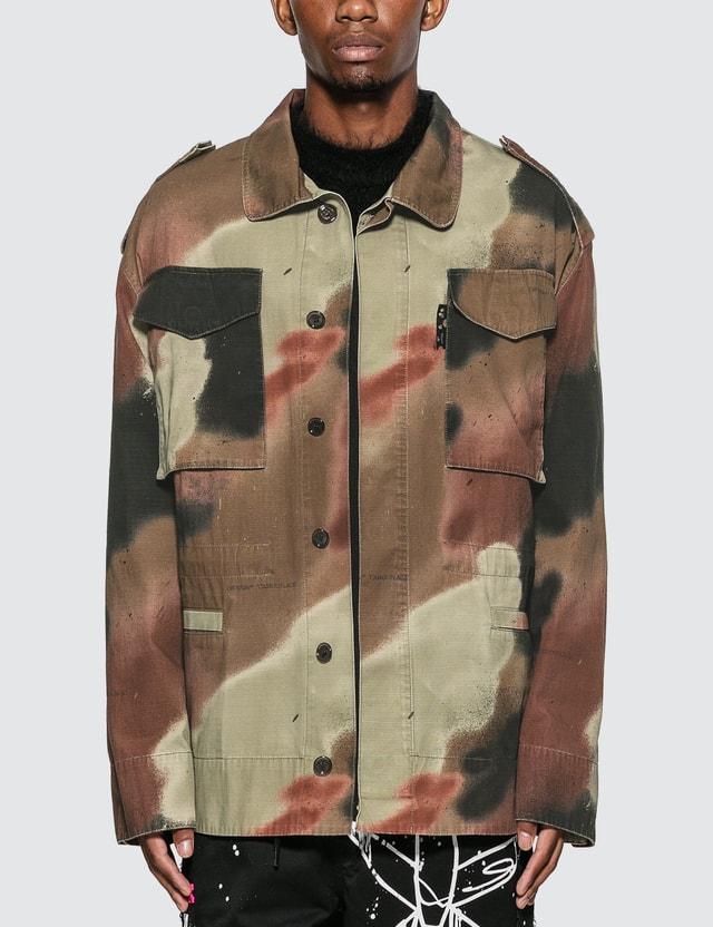 Off-White Camo Arrow Field Jacket