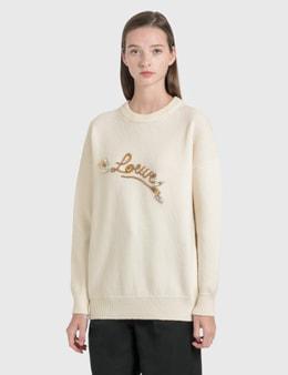 Loewe Loewe Stitch Knitted Jumper