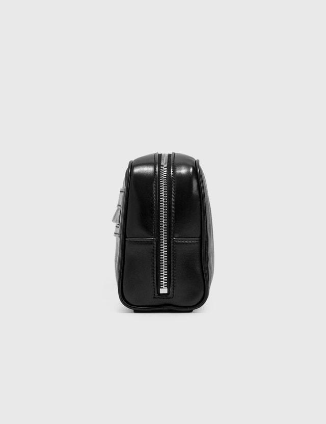 Saint Laurent Camera Leather Pouch Nero Men