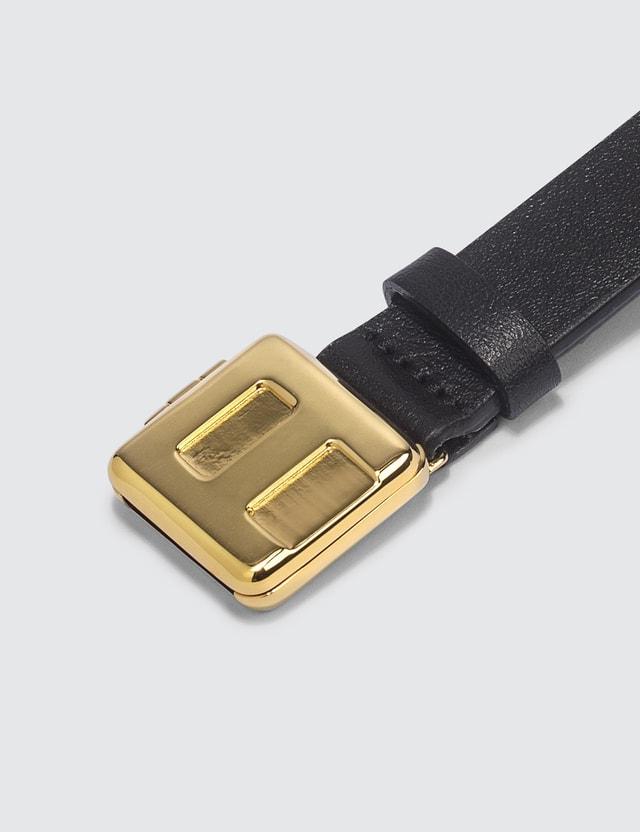 Ambush Leather Nameplate Bracelet =e30 Men