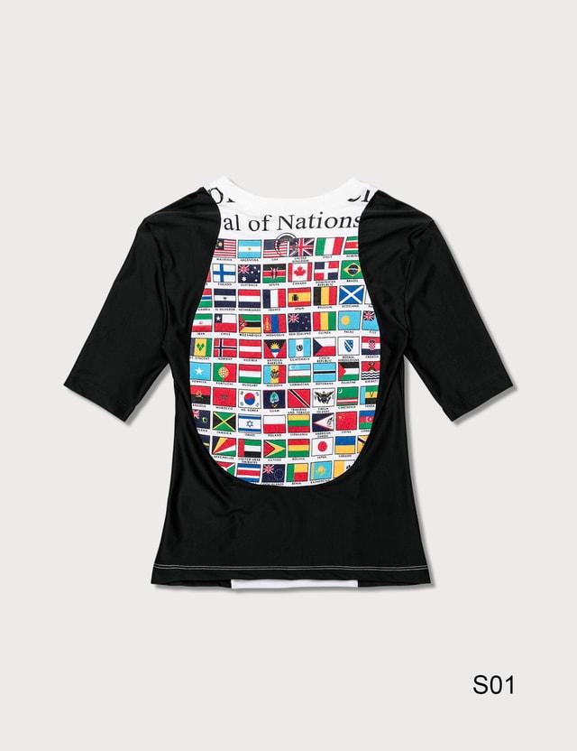 Marine Serre Upcycled Jersey T-Shirt