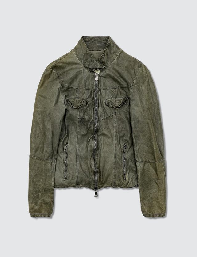 Giorgio Brato Biker Leather Jacket