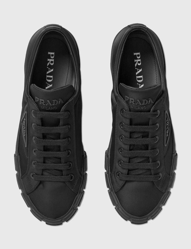 Prada Wheel Cassetta Sneaker Nero Men