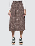 Maison Kitsune All-over Flower Paige Long Skirt Picture