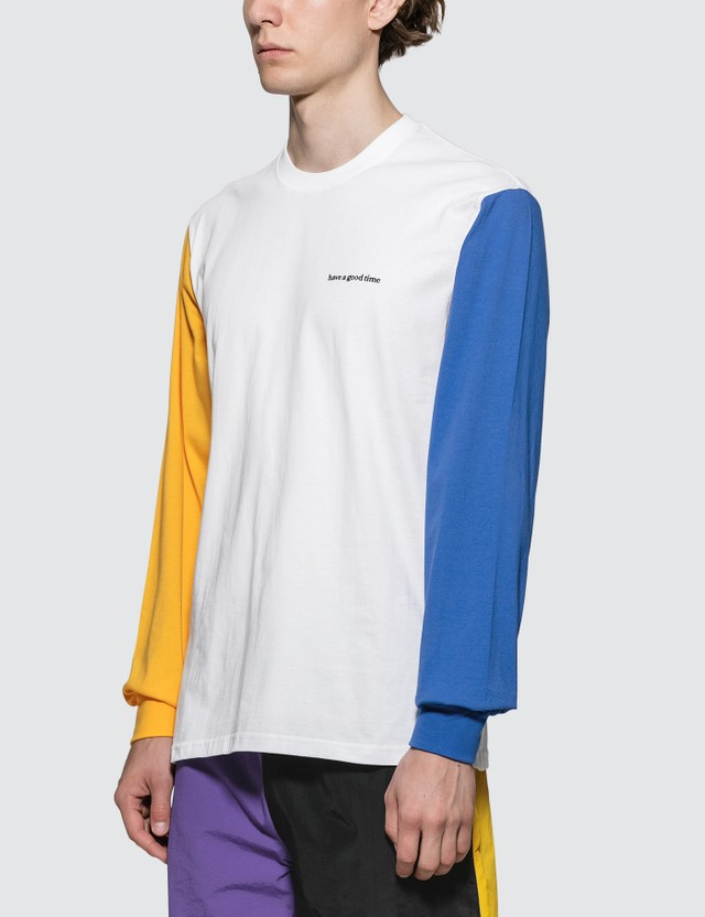 Have A Good Time 3 Color L/S T-Shirt