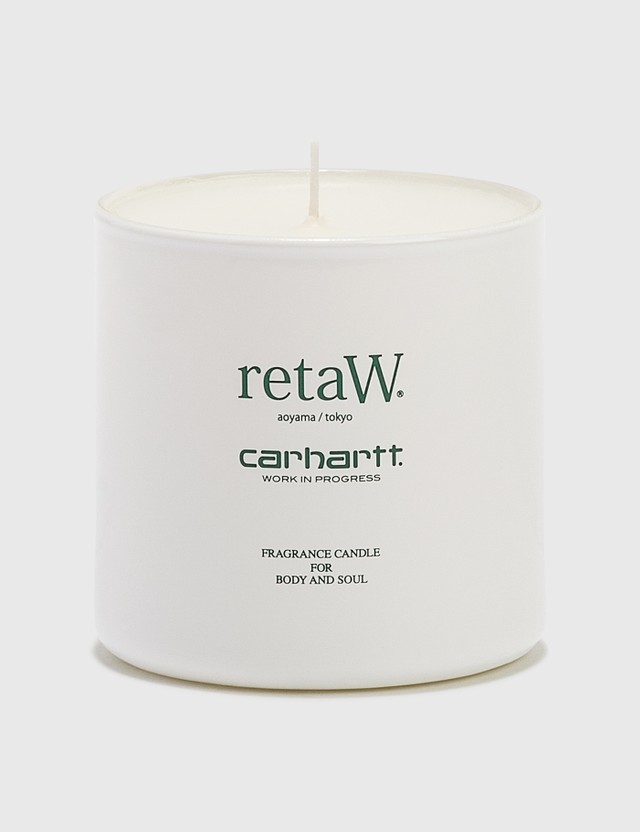 Carhartt Work In Progress retaW x Carhartt WIP Midas Fragrance Candle White, Bottle Green Unisex