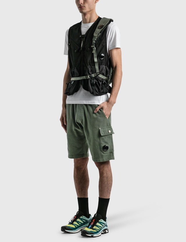CP Company Pocket Vest Black Men