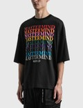 Mastermind World Multi Logo Boxy T-shirt Black Men
