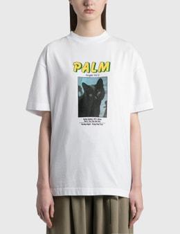 Palm Angels Black Cat T-Shirt