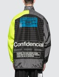 Marcelo Burlon Intel Lettering Windbreaker