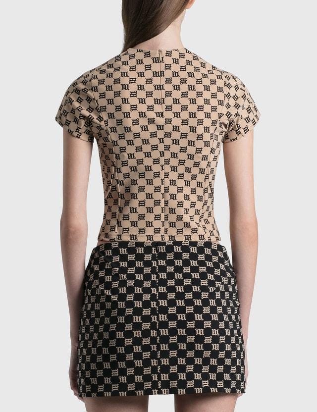 Misbhv Monogram Fitted T-shirt Mlc Women