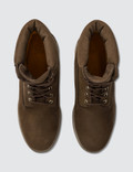 "Timberland 6"" Premium Boot Dark Brown Nubuck Men"