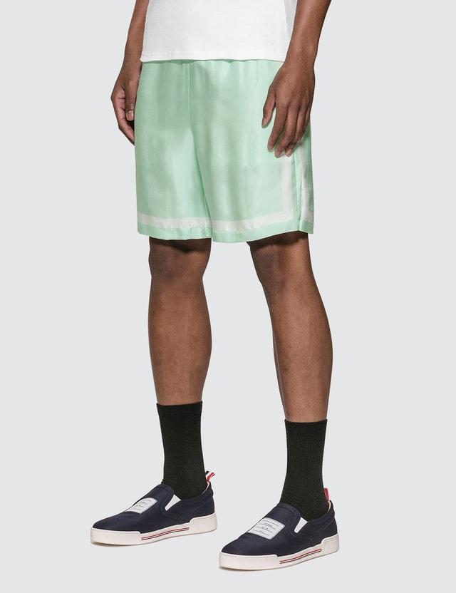 Casablanca Tennis Silk Shorts