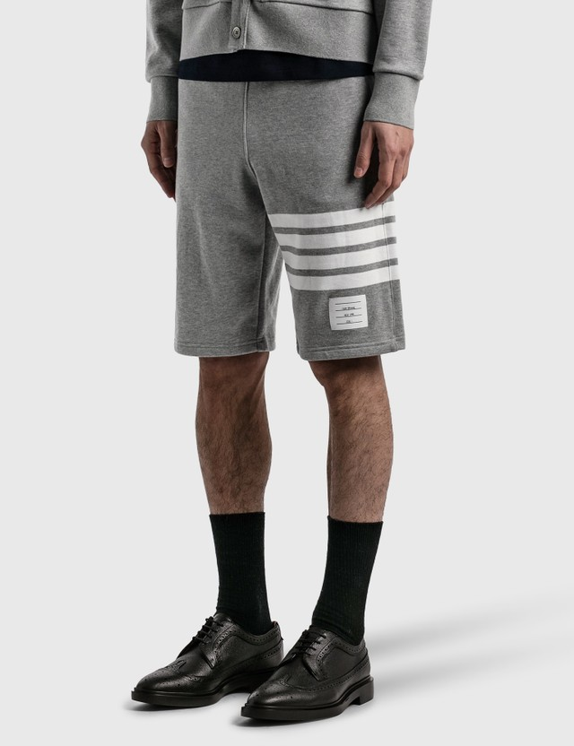 Thom Browne Classic Sweat Shorts Light Grey Men