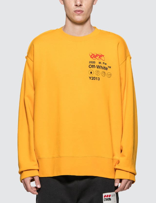 Off-White Industrial Y013 Incomp Sweatshirt