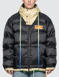 Off-White Scaffolding Zipped Puffer Jacket Picutre
