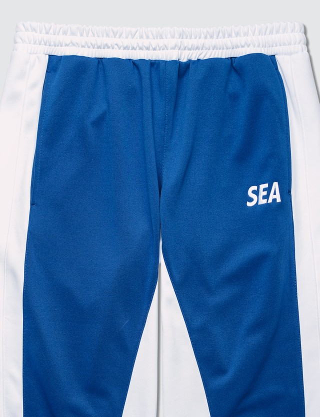 Wind And Sea Jersey Pants Blue Men