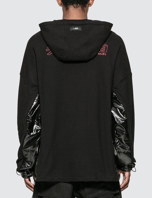 Guerrilla-group Displacement Padded Hoodie