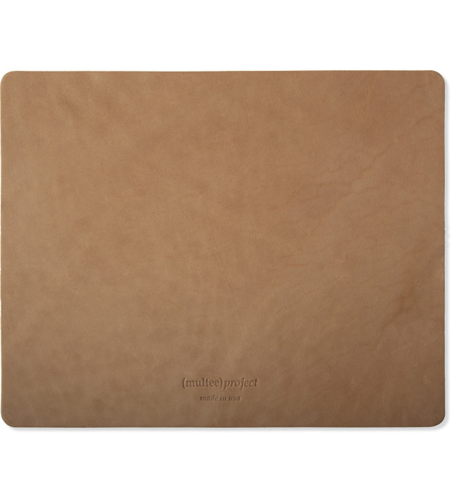 (Multee)Project Natural Leather Mouse Pad