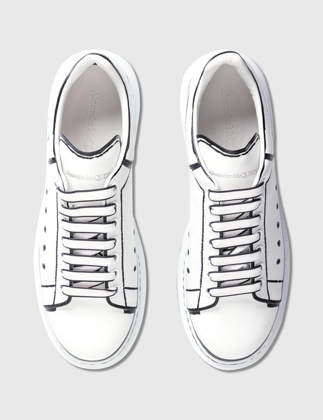 Alexander McQueen Oversized Sneaker White/black Men