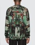 Burberry Submarine Print Cotton Sweatshirt