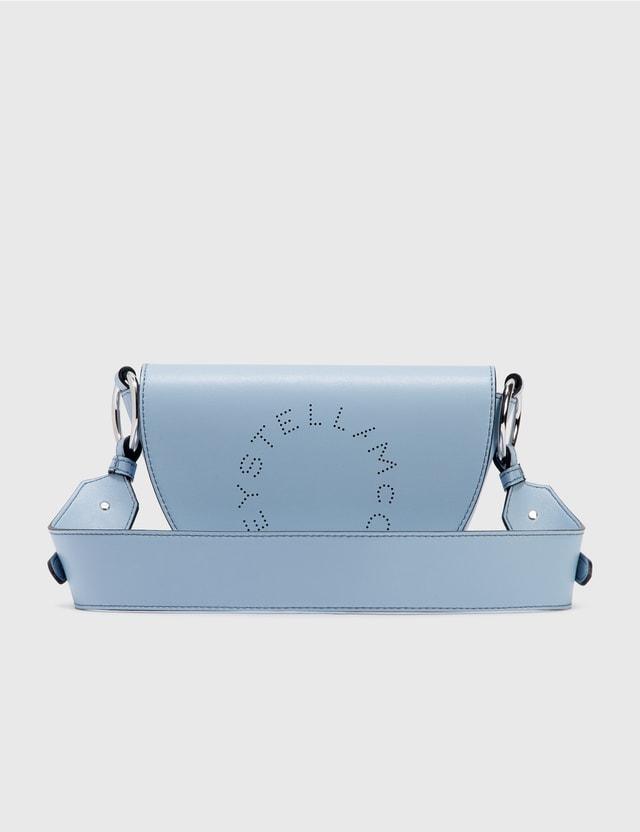 Stella McCartney Mini Marlee Logo Bag 4451 Sky Women
