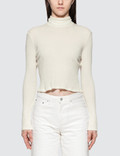 John Elliott Rib Cropped Turtle Neck Picture