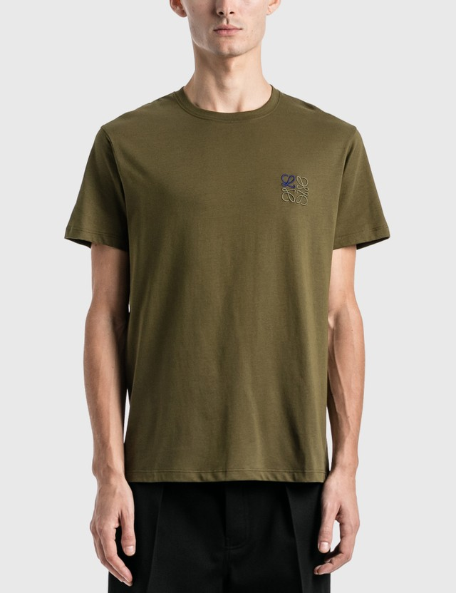 Loewe Anagram T-Shirt Khaki Green Men