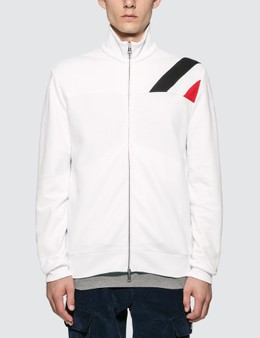 Moncler Stripe Detail Full Zip Jacket