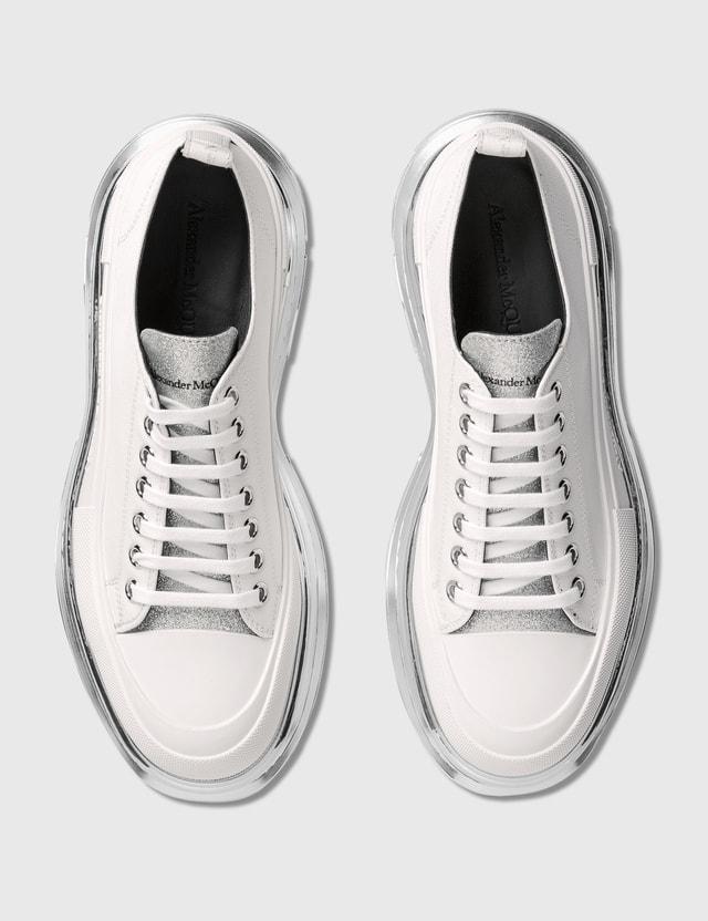 Alexander McQueen Tread Slick Lace Up Sneaker