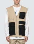 Pleasures Fade Tactical Vest Picutre