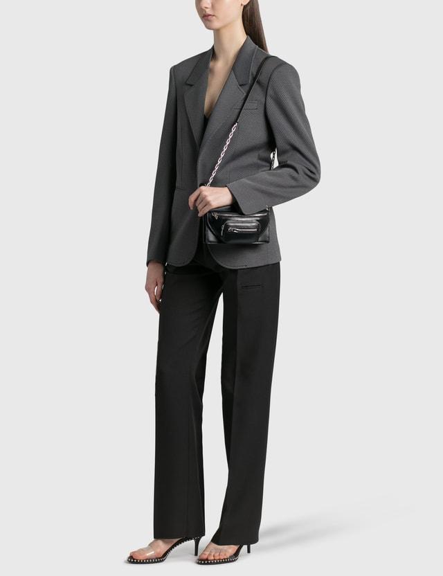 Random Identities High Rise Tailored Pants Black Women