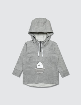 Bash+Sass Oversized Pullover Hoodie