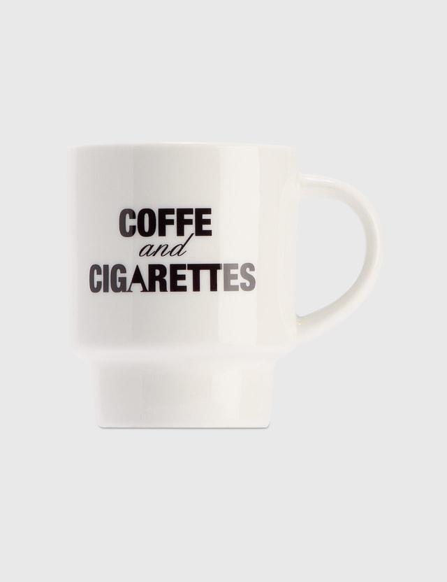 Alice Lawrance Coffee And Cigarettes Mug White  Men