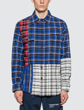 Off-White Check Reconstructed Shirt Picture