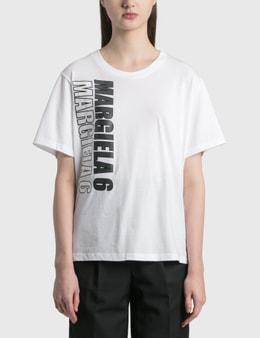 MM6 Maison Margiela Motocross Logo T-shirt
