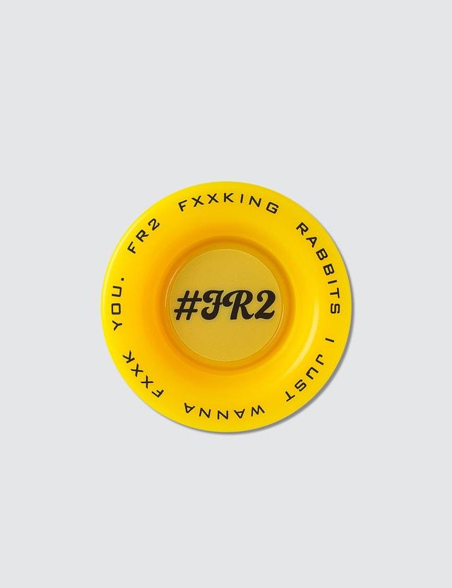 #FR2 Fxxking Rabbit Yellow Yo-yo Toy
