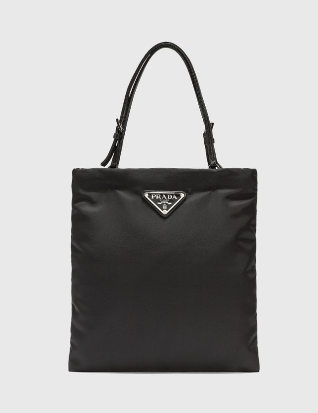 Prada Nylon Handbag Nero Women