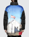 CALVIN KLEIN JEANS EST.1978 Back Printed Down Puffer Jacket Picutre
