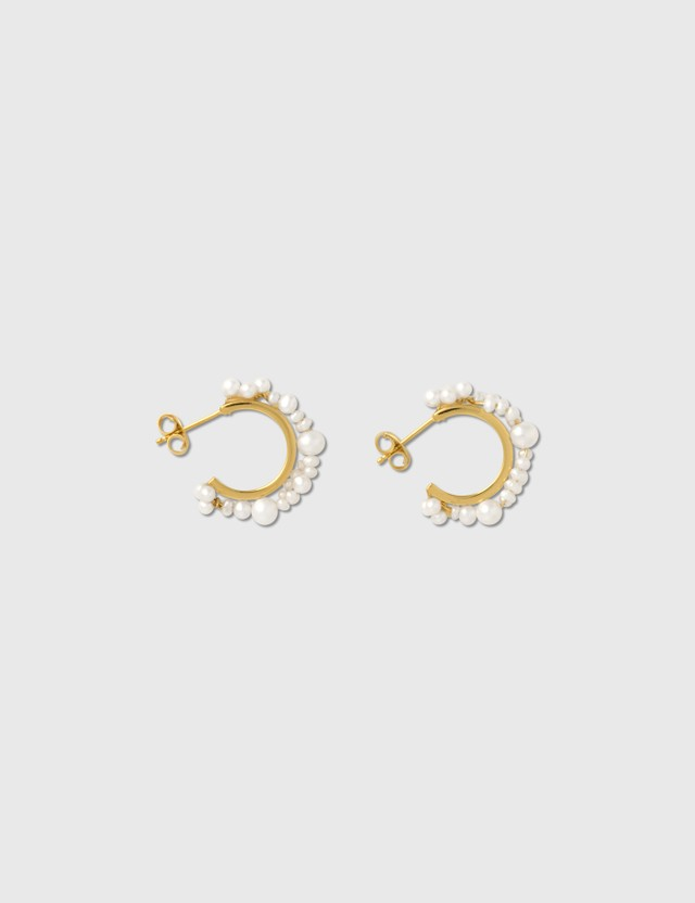 Completedworks Stratus Pearl Earring White Women