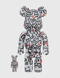 Medicom Toy Be@rbrick Keith Haring #8 100% & 400% Set Picture