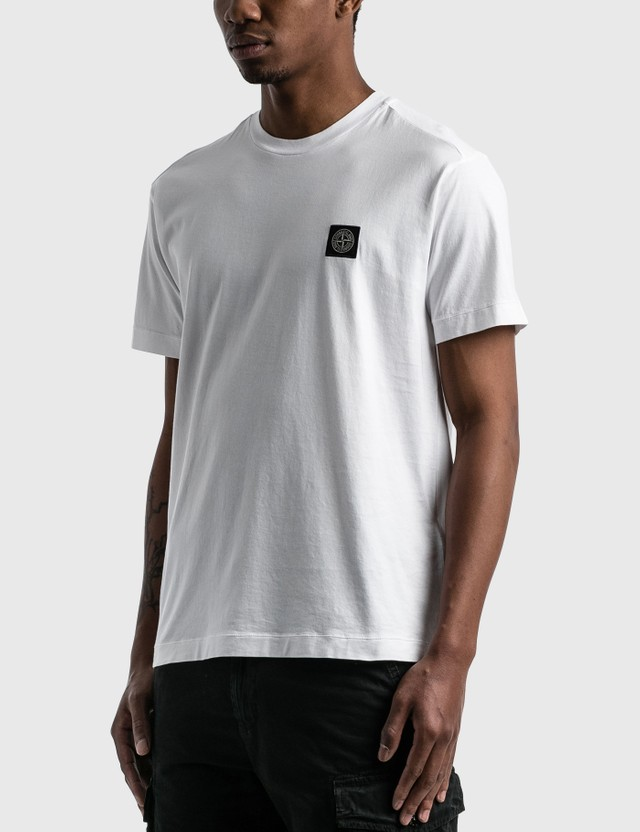 Stone Island Classic Patch T-shirt White  Men