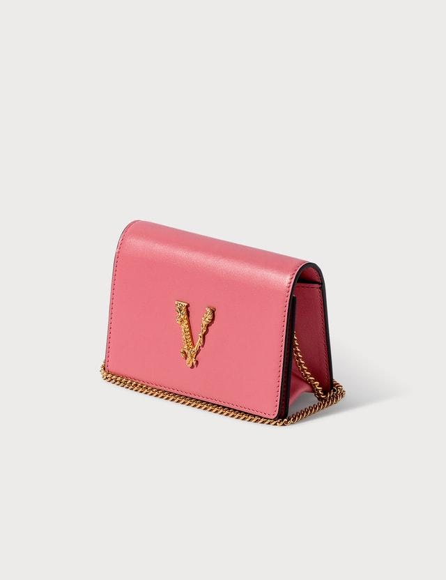 Versace Virtus Mini Chain Wallet