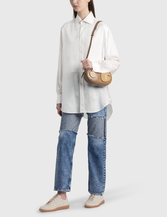 Maison Margiela Silk Shirt White Women